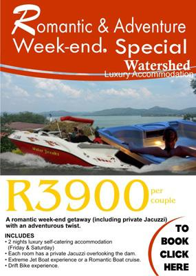 Mid-week Special Offer in Hartbeespoort