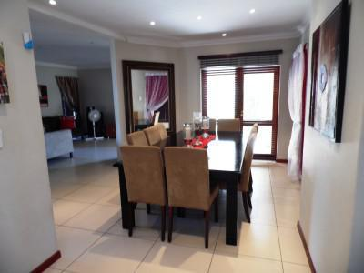 Modern home for beginners in security estate
