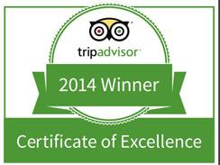 Trip Advisor Award for Harties Cableway