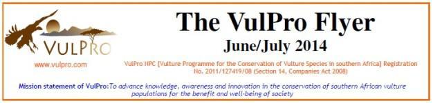VulPro June-July 2014 Flyer