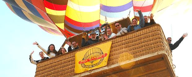 Hot Air Ballon Rides in Hartbeespoort