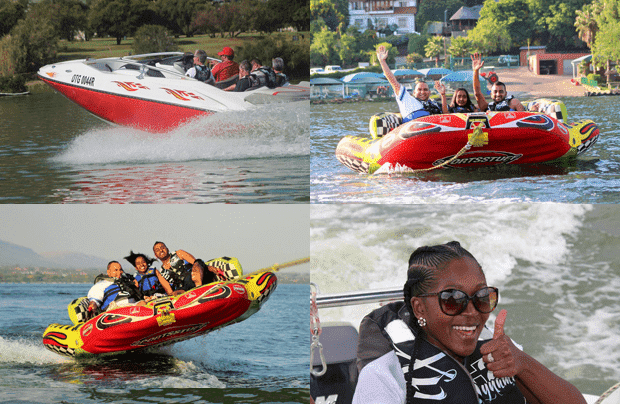 Jet boat extreme & tube rides with Water Freaks on Hartbeespoort Dam