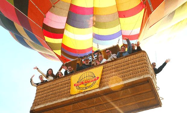Hot air ballooning in Hartbeespoort