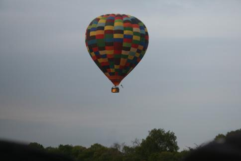 Proposal in a Hot Air Balloon Harties