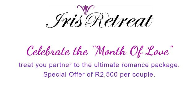 Valentine's Day Special Offer at Iris Retreat