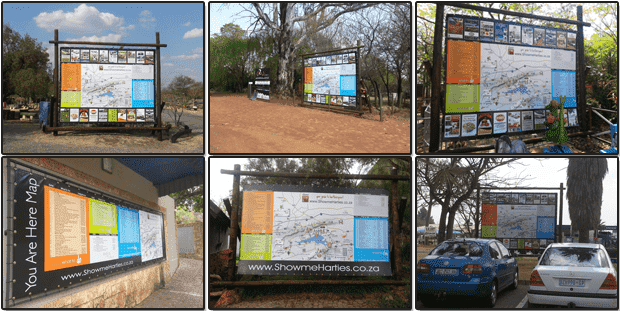 You are Here Maps in Hartbeespoort
