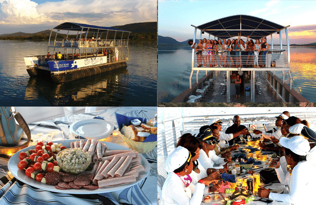 Daily Boat Cruises with Harties Boat Company on Hartbeespoort Dam.