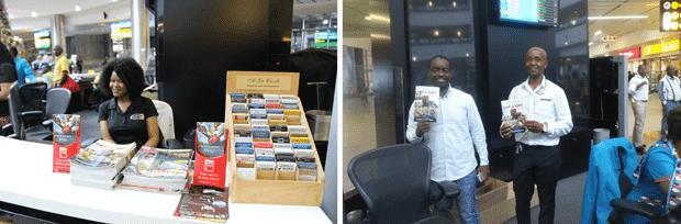 OR Tambo International Brochure Distribution