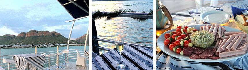 Daily dinner boat cruise on Hartbeespoort Dam with Harties Boat Company