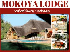 Valentine's Package @ Mokoya Lodge ends next week