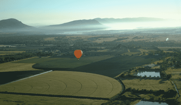 "What a view - hot air balloon flights | Bill Harrop's ""Original"" Balloon Safaris"