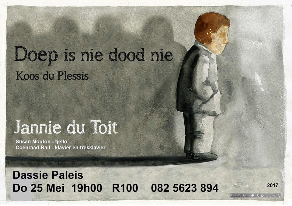 Harties Doep is nie dood nie!! - Koos du Plessis deur Jannie du Toit.