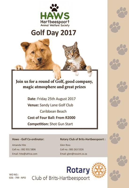 Hartbeespoort HAWS Rotary Golf Day