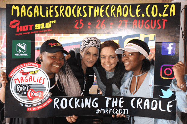 Magalies Rocks the Cradle Festival