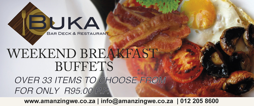 Breakfast Buffet at Amanzingwe Lodge | Hartbeespoort