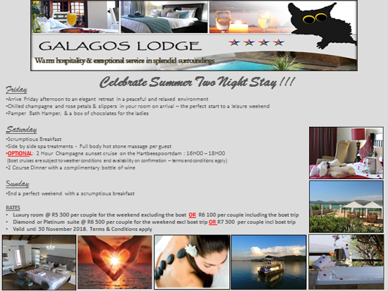 Galagos Lodge Special Offer