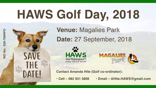 HAWS - Golf Day Magalies Park Golf Course