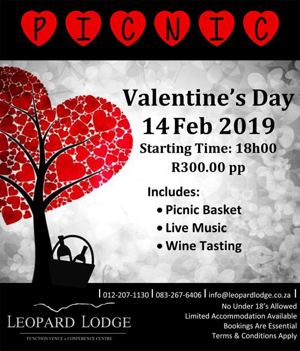 Valentines at Leopard Lodge