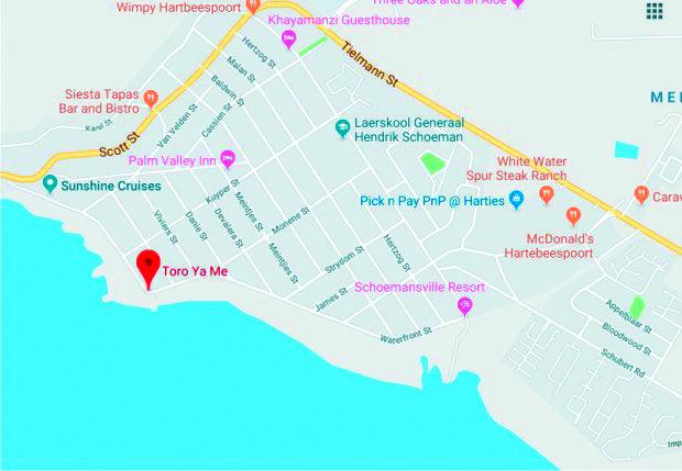 Toro Ya Me Map
