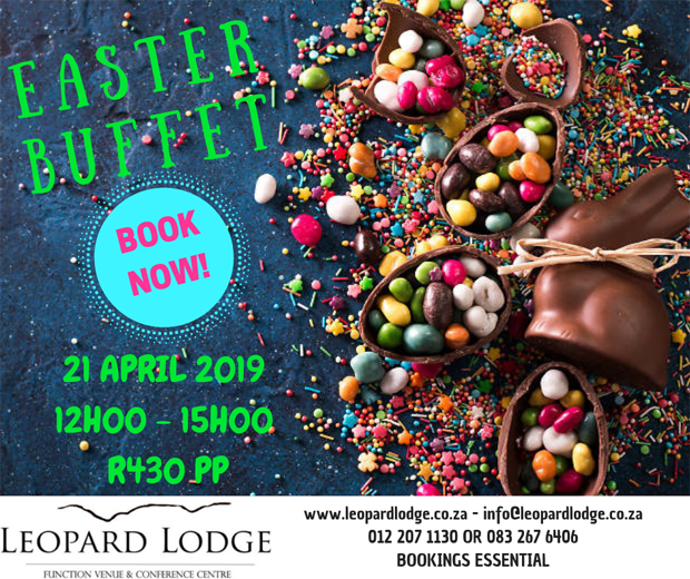 Easter Buffet at Leopard Lodge in Hartbeespoort