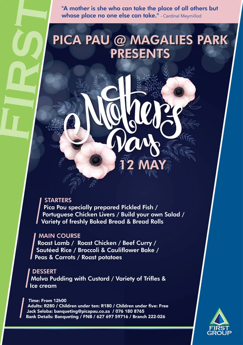 Mothers day at Pica Pau | hartbeespoort