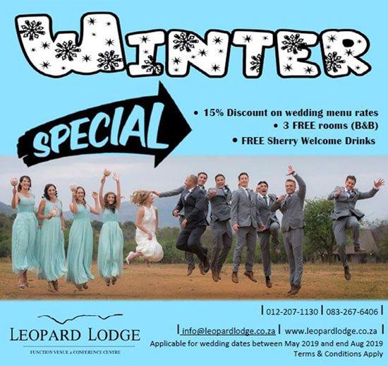Leopard Lodge Wedding Special