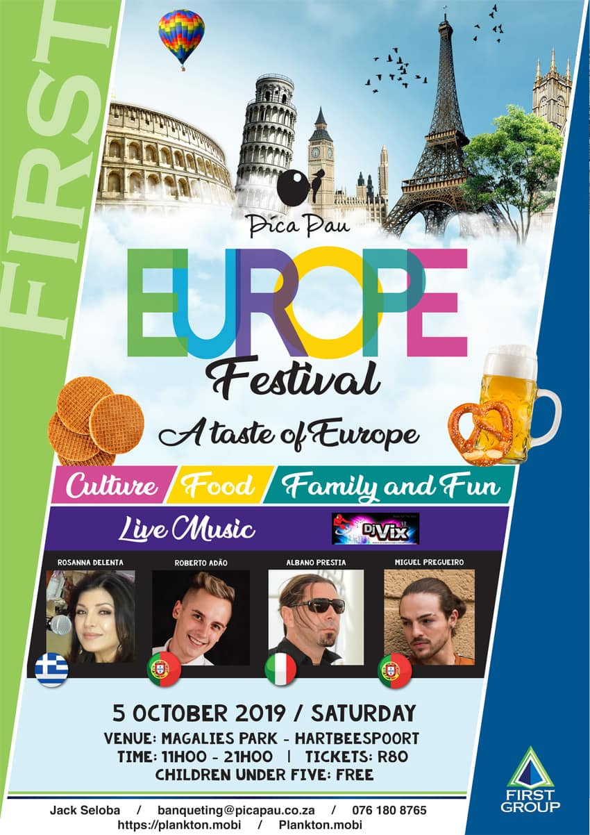 Europe Festival at Pica Pau | Magalies Park