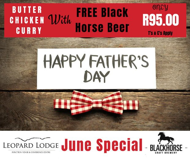 Father's Day at Leopard Lodge