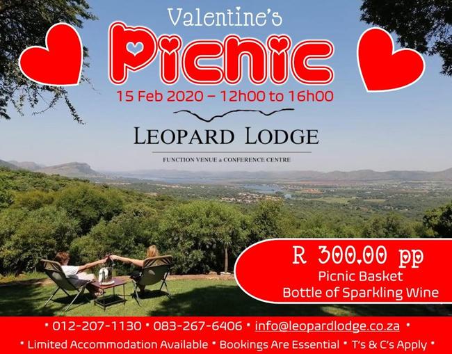 Valentines Picnic at Leopard Lodge
