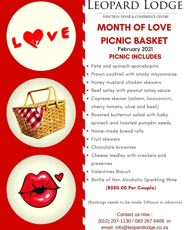 Valentines Month at Leopard Lodge in Hartbeespoort