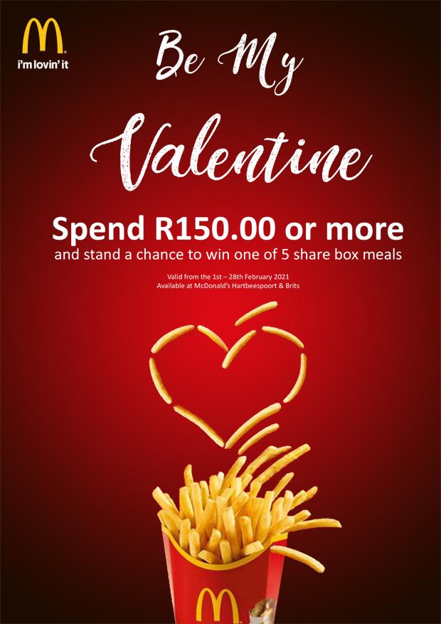 Valentines Month at Mc Donalds