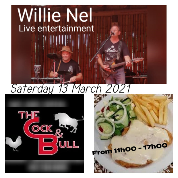 Willie Nel live at Cock & Bull