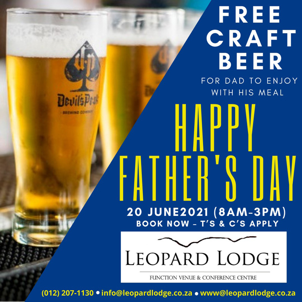 Father's Day | Leopard Lodge in Hartbeespoort