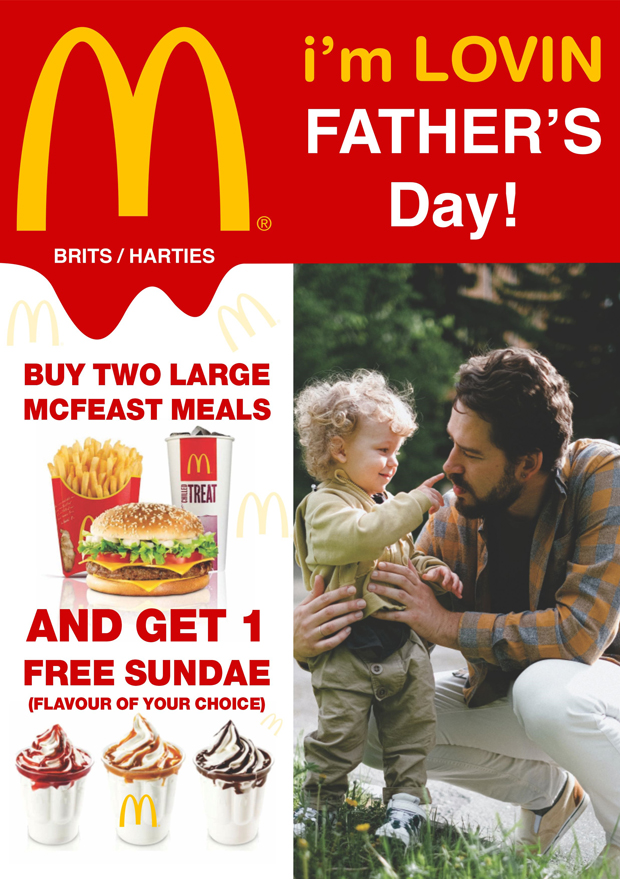 Mc Donalds | Father's Day
