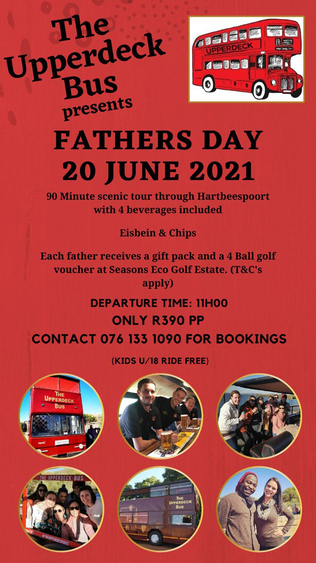 Father's Day at Upperdeck | Hartbeespoort