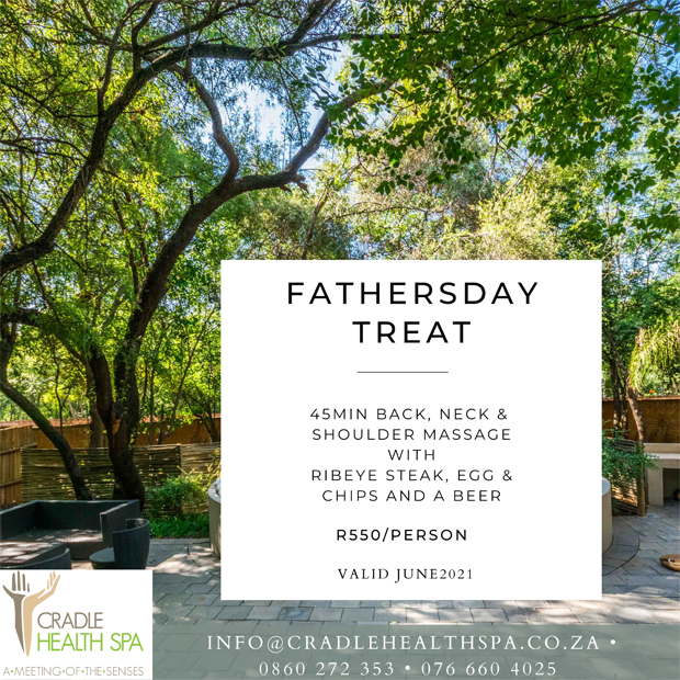 Father's Day | Cradle Health Spa