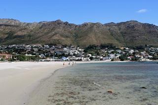Gordons Bay Beach - Main Beach, in the Helderberg, near Cape Town
