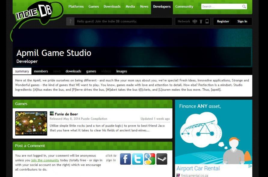 Somerset West's Own Indie Game Studio | Helderberg News