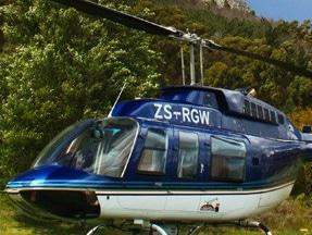 Helicopter trips at Waterkloof