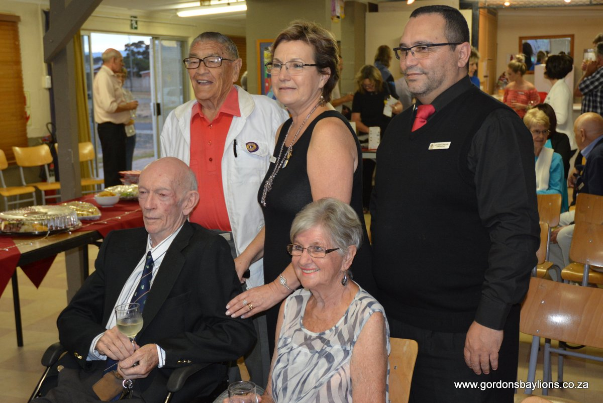 Gordon's Bay Lions celebrate 30th anniversary of their club.