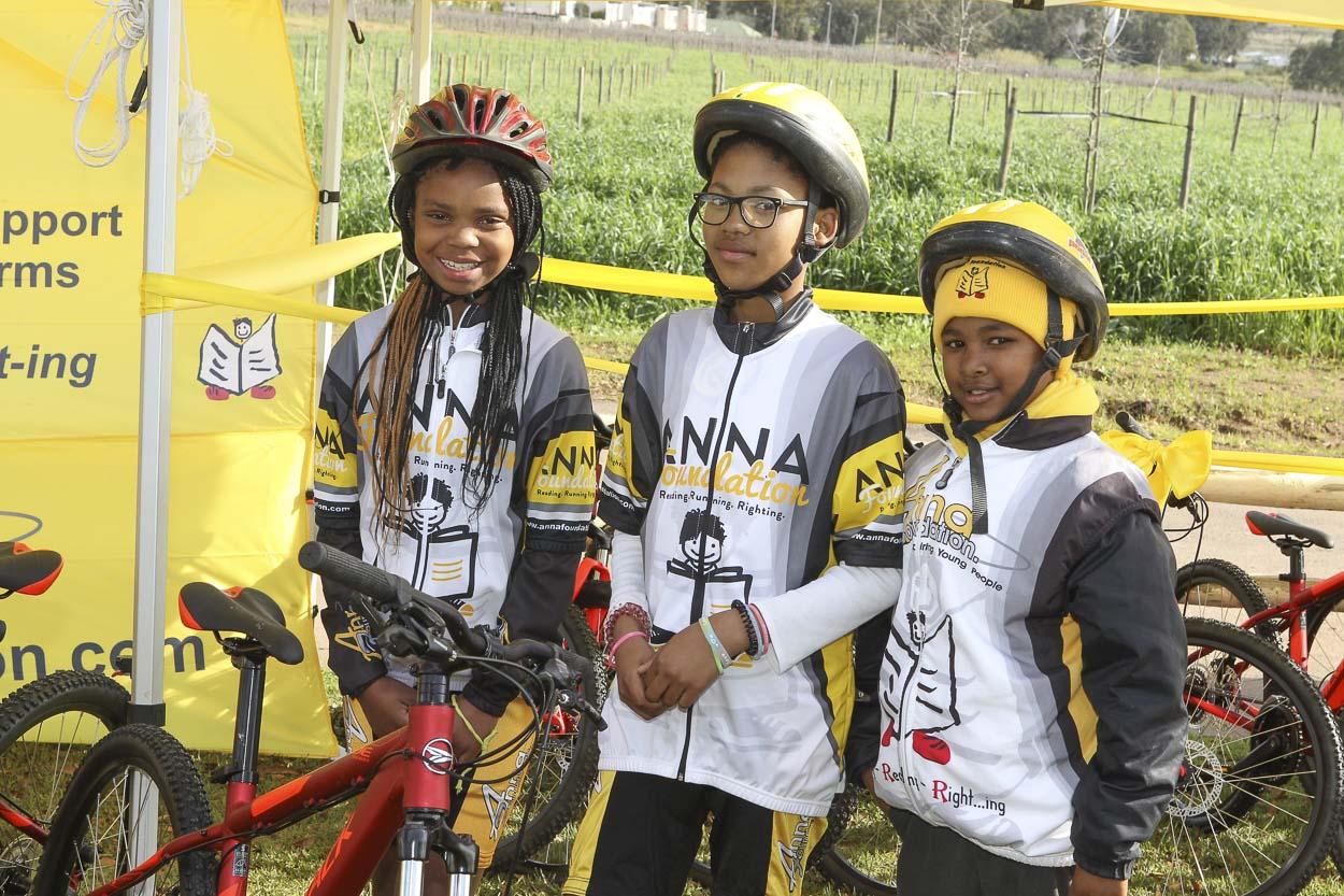 Anna Foundation Children Recieve Bikes!