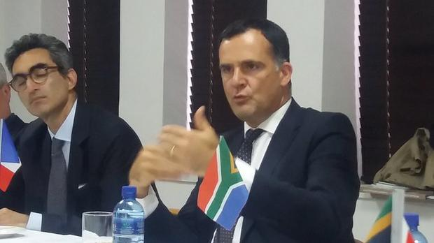 France's Ambassador to South Africa, Christophe Farnaud. Picture: Riana Howa/IOL