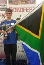 SA flag @ Robofest