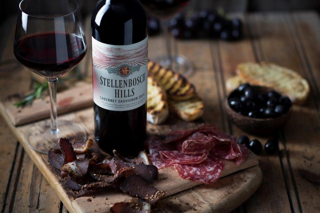 Biltong & Wine Pairing with a twist