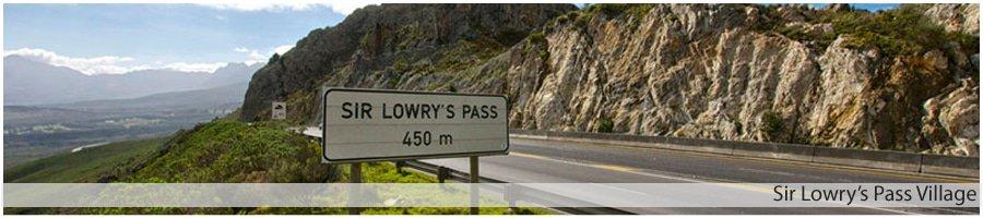 Sir Lowry's Pass Village