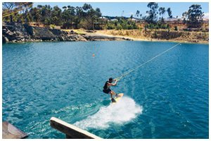 Blue Rock Cable Waterski