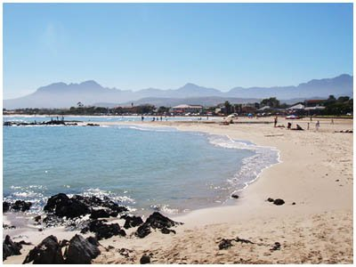 Gordon's Bay Beaches