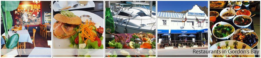 Restaurants in Gordon's Bay
