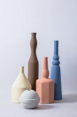 ceramic vases by Sonia Pedrazzini credit Le Morandine