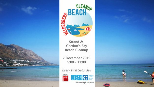 Helderberg Beach Cleanup Event December
